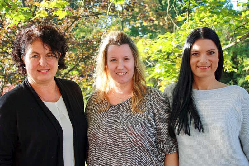 Petra Pfister, Claudia Hirt, Katrin Rinke