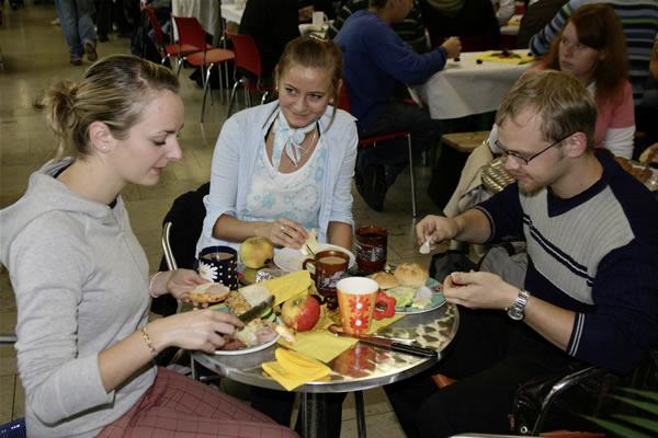 Cafeteria Fruehstueck
