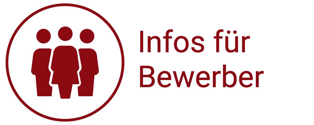 """Gehe zu """"Bewerber-Info"""""""