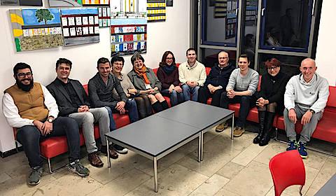 Vorstand und Beirat des Fördervereins 2017