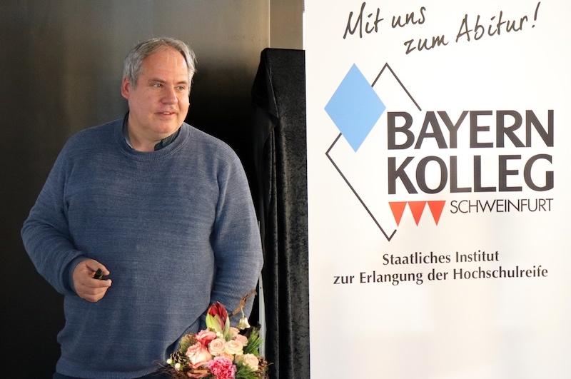 Zeitzeugengespräch mit Thomas Raufeisen